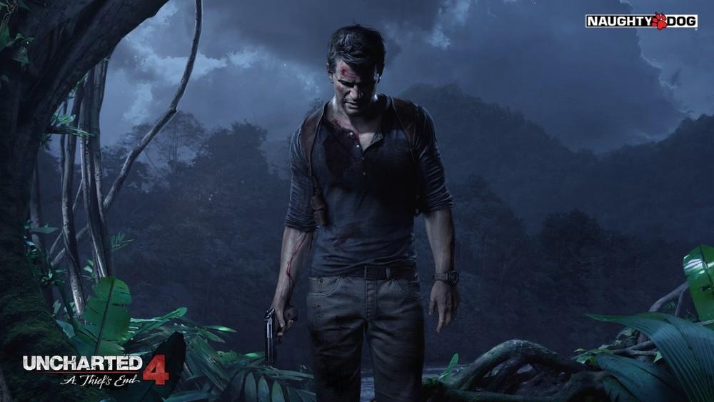 Col senno di poi, in quest'immagine Nathan sanguina per la caduta nel vuoto dell'anno scorso.