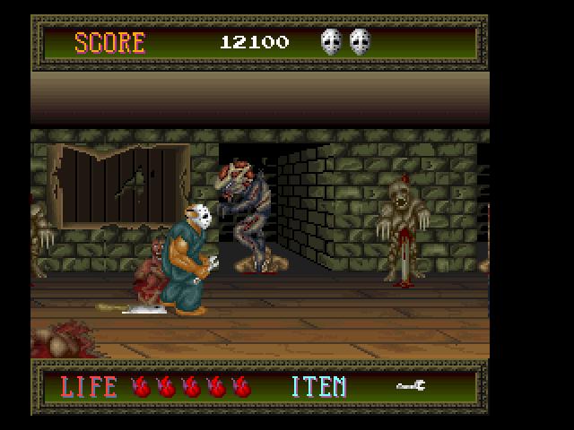 C'è tutto, e anche per questo si tratta di un gioco più difficile rispetto a quanto visto su PC Engine.