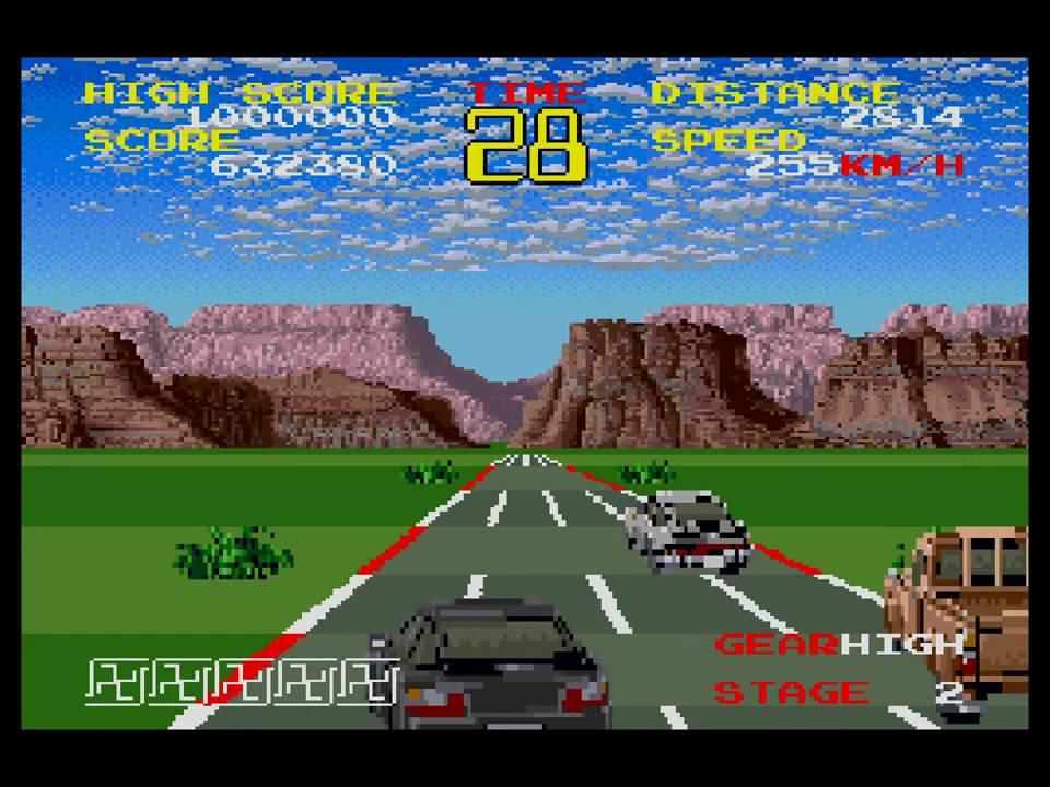 ... mentre su X68000 è tutto sbagliato. Comprese le svastiche che rappresentano i turbo.