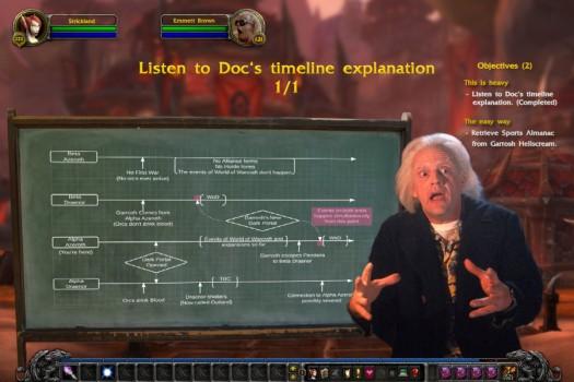 Sono stati scomodati i migliori esperti per spiegare agli utenti la dinamica dei viaggi nel tempo per la prossima espansione di World of Warcraft