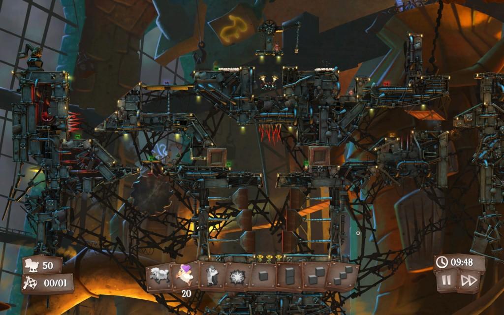 Con la rotella centrale del mouse è possibile zoomare avanti e indietro per avere una visione globale del livello