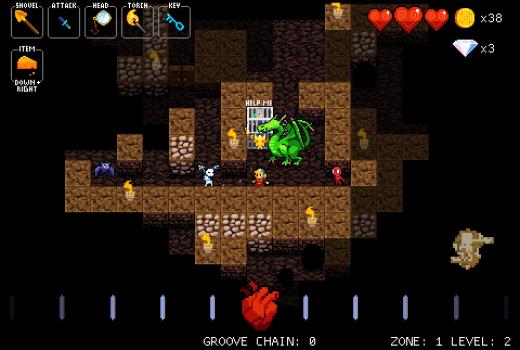 Crypt of the Necrodancer è bastardo. È bastardo a tempo, ecco.