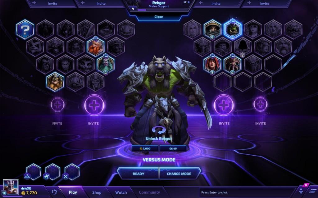 Come potete vedere dall'interfaccia di scelta dell'eroe, in futuro gli eroi saranno 35 (a meno che non decidano di modificare tutto)