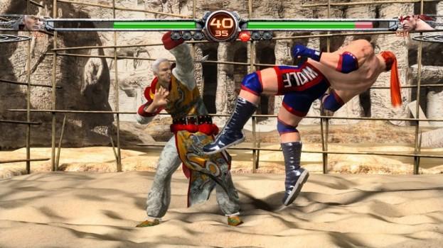 Virtua Fighter Final Showdown Juggle