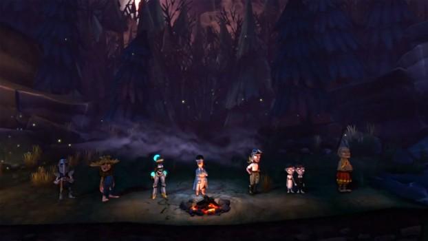 The Cave: I personaggi