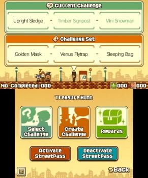 Questa è la schermata di setup della modalità StreetPass, purtroppo non ho potuto provarla per mancanza di sfidanti.