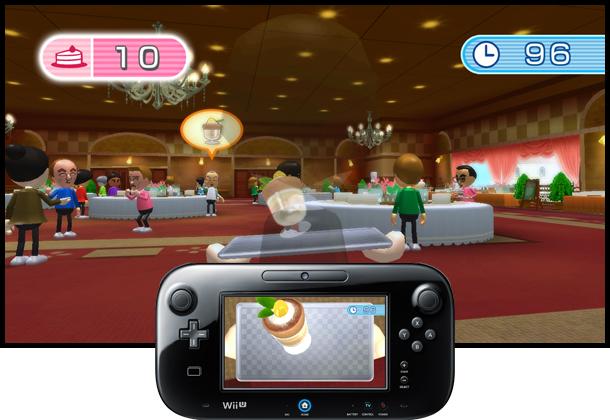 Il gioco del cameriere è uno dei più simpatici, tra quelli che usano la combo bilancia-GamePad.