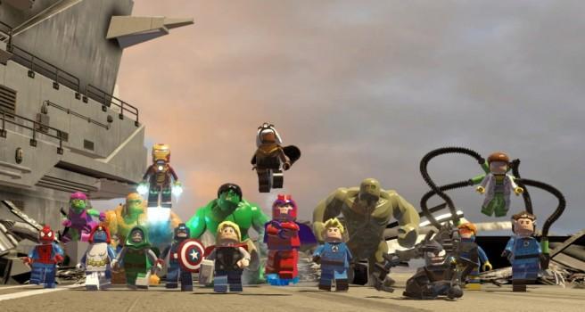 Foto di gruppo con una piccola (piccolissima) parte dei personaggi disponibili.