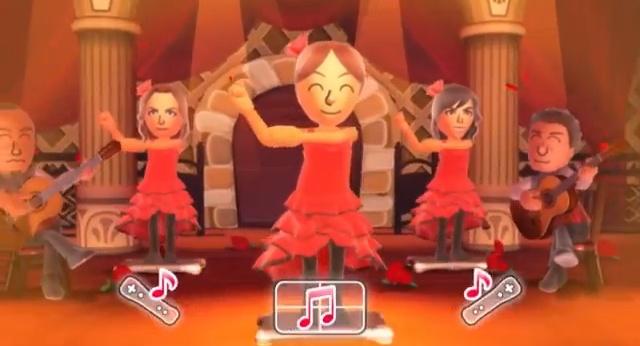 Uno dei nuovi corsi di ballo aggiunti in Wii Fit U.