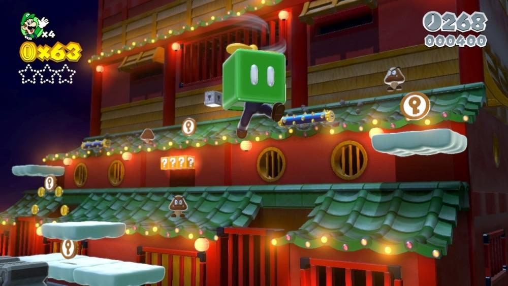 Il GamePad viene usato in maniera intelligente per svelare alcuni elementi nascosti e interagire con altri.