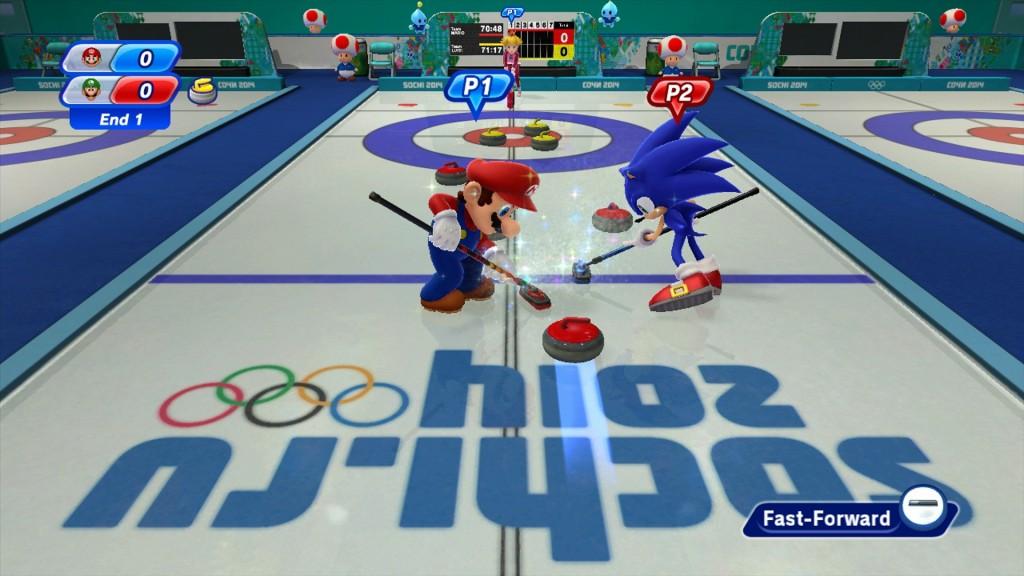 Però il curling è una ficata.