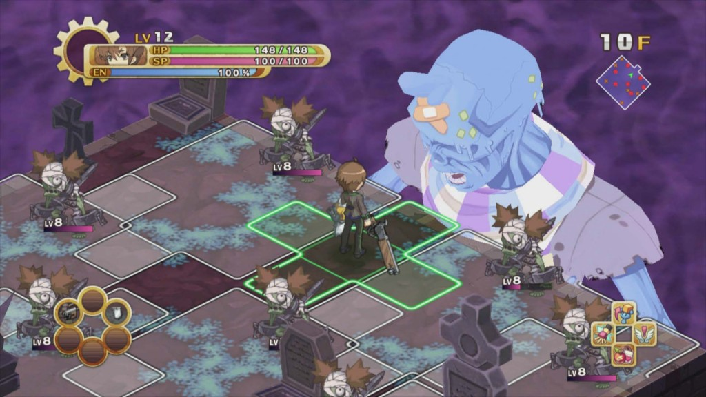 Gli scontri con i boss sono fra le cose più interessanti di Guided Fate Paradox