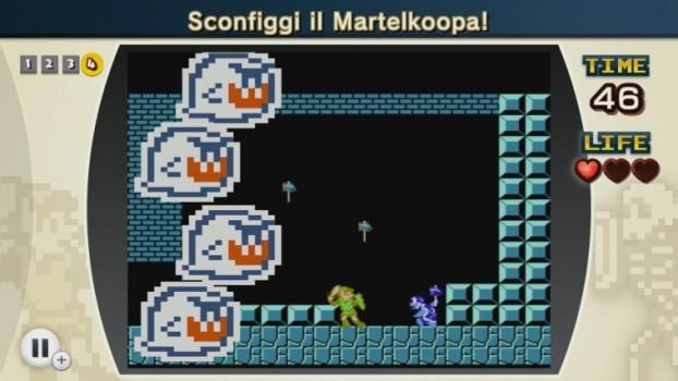Ma quello è Link, e dietro ci sono dei Boo, e il livello appartiene a Super mario Bros. 3... qualcosa non torna.