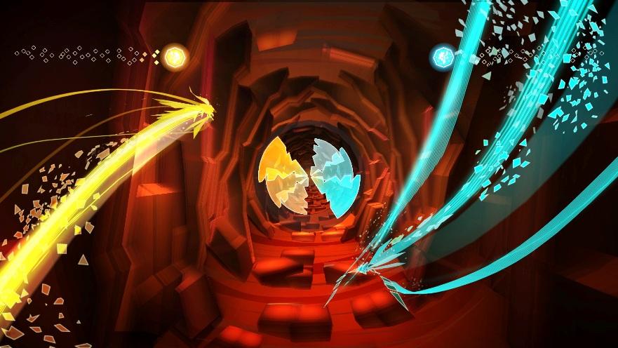 Un tunnel relazionale generato dal sentimento dell'amore, ove le parti compiono il loro viaggio passionale. È questa la prima fase di Entwined.