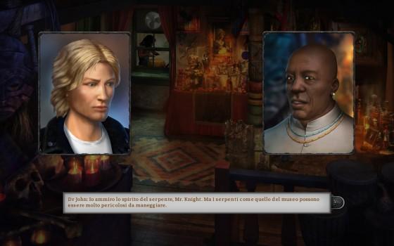 A proposito: le schermate di dialogo sono cambiate, ma mantengono i primi piani sui personaggi.