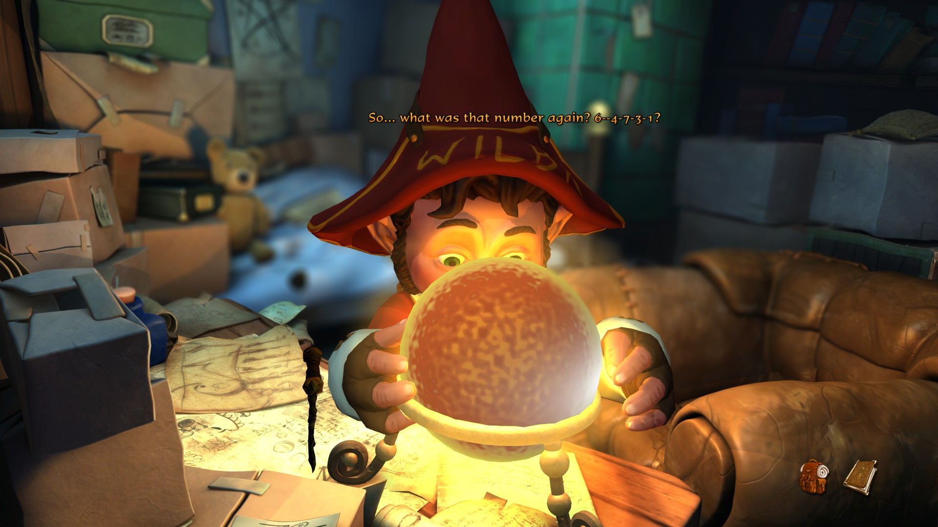 Una Hogwarts tutta sbagliata per Wilbur.