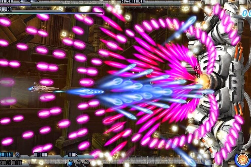 Quando sale il rank, il gioco tira fuori la grinta del danmaku di razza, assieme ai dovuti proietili.