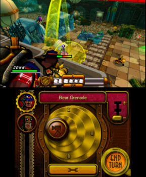 La granata è una delle armi più variabili perché permette di colpire i nemici anche rimanendo al coperto.