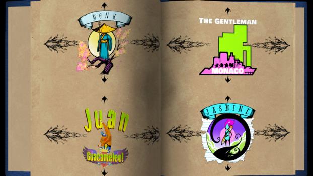 Oltre a guerrieri originali, Paperbound comprende figuri provenienti da altri successi indie.
