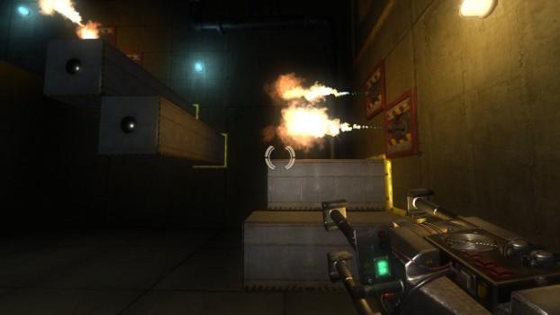 Il guardiano non va per il sottile. Muovetevi e collaudate l'arma, o morite nel tentativo.
