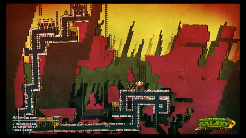 Giocando alla modalità sandbox, sarà possibile allontanare la visuale per ammirare la propria base da lontano.