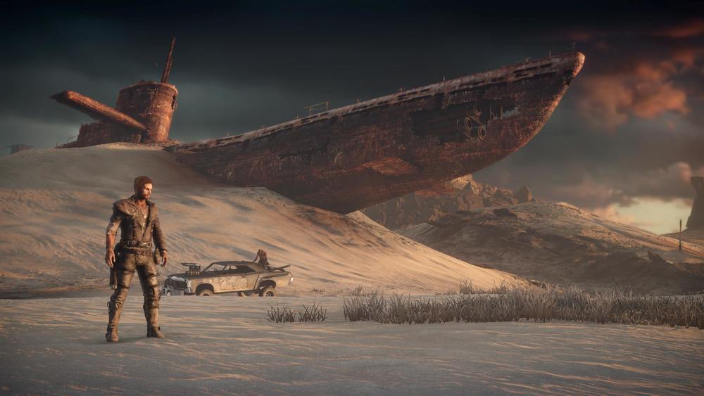 L'ambientazione di Mad Max è sorprendentemente capace di scorci suggestivi e un'ottima varietà.