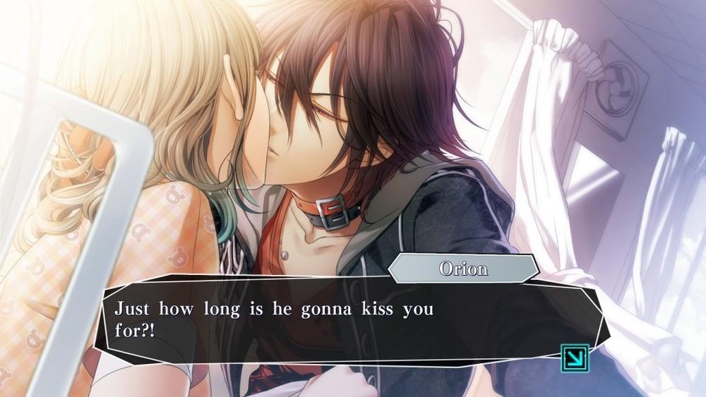 Potevano mancare scene con baci appassionati?