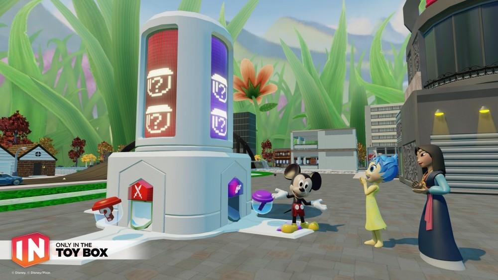 E ora un po' di Toy Box, perché non si vive solo di Star Wars. Questi dispenser sono un'ottima trovata, che genera casualmente variazioni nei livelli o nemici, molto meglio dei beceri generatori del 2.0, che non sapevi mai quando/come/dove generavano.