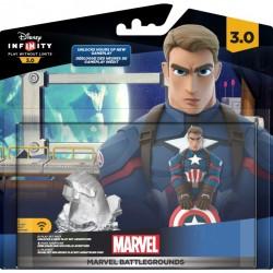 Il pack di Marvel Battlegrounds. Per giocare in multiplayer bastano questo pacchetto + il gioco base di Disney Infinity 3.0, altri supereroi non ne servono, dato che si possono sbloccare ingame con i gettoni.