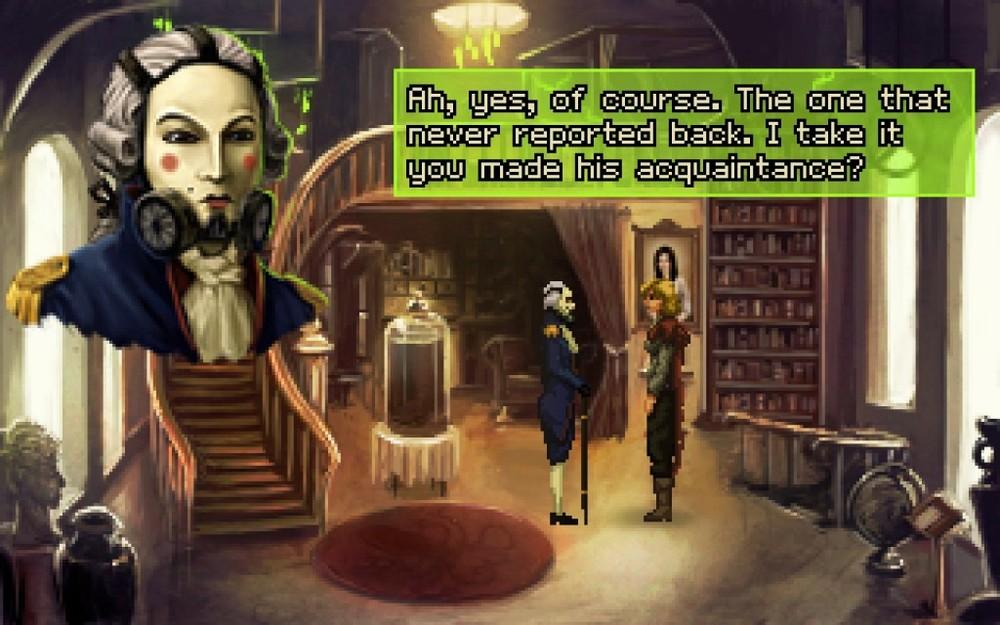 Tiberius è l'attuale capo del governo. Sulla carta, Amy svolge qualche lavoretto per lui, ma la realtà è ben diversa.
