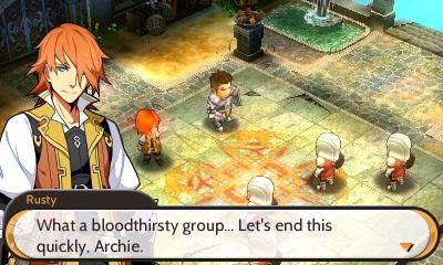 Eccolo, lì nel mezzo, il mitico Archie! Un muflone che avanza in retromarcia. Però è simpatico.