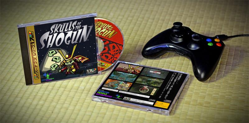 Il meraviglioso press kit in stile Sega Saturn offerto alla stampa durante la fiera PAX East.