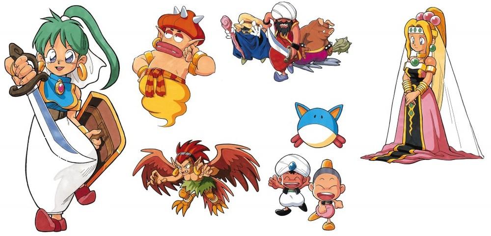 Il character design curato da Maki Ohzora per  MWIV  scalda il cuore. La vogliamo anche su  Monster World V !