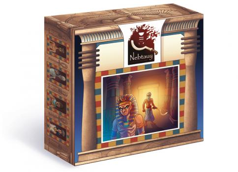 Il design della scatola di Nebtauy - The Pharaoh Conspiracy