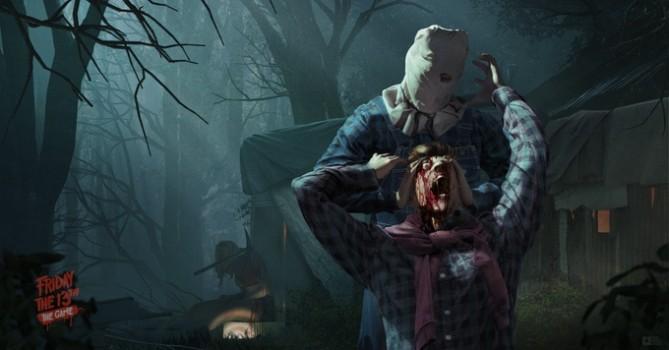 Un Jason col sacchetto in testa come nel secondo film si esibisce in un'uccisione pescata dal terzo episodio.