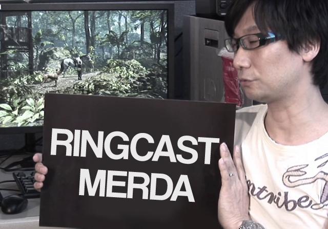 Hideo Kojima e le posizioni misurate.