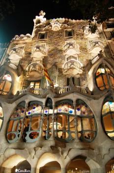 Casa Battló, Barcellona. L'ingresso intero per visitare la casa progettata da Antoni Gaudì costa 21,50 euro.