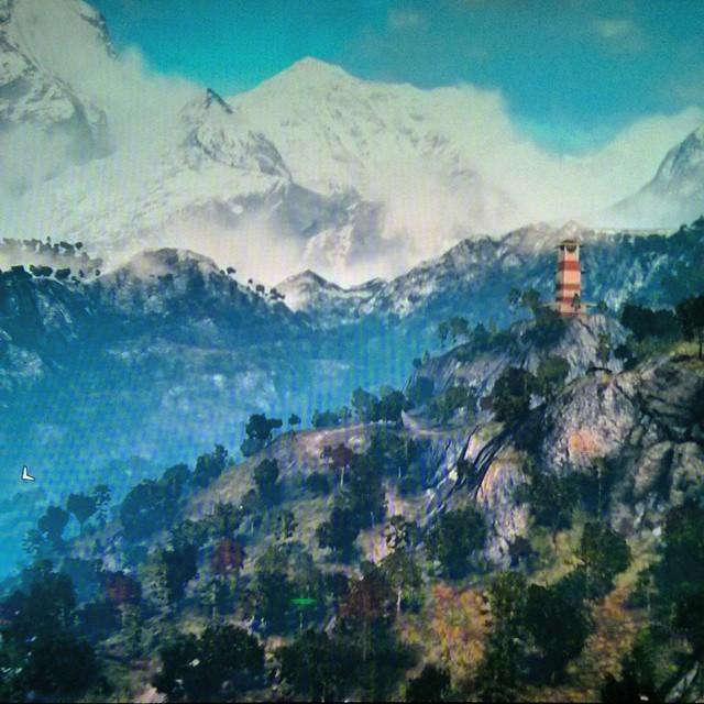Quando ho pubblicato questa foto di Far Cry 4, qualcuno ha pensato che fossi sull'Himalaya sul serio :D