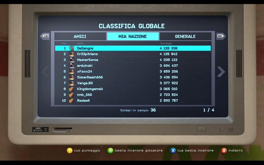 Sono il Maderna. Vi rendo noto che il codice ce l'ha dato Ubisoft Italia.