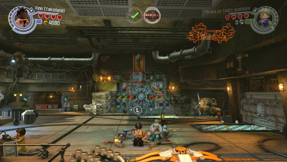 Le costruzioni da effettuare sono suggerite, ma il giocatore deve capire l'ordine corretto.