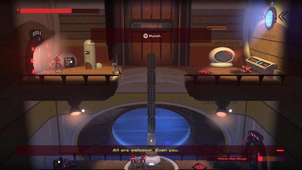 Le porte automatiche commentano fallimenti e successi del giocatore con battutine acide.