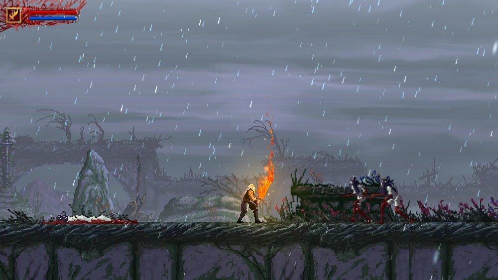 Le armi elementali consentono danni bonus su particolari nemici.