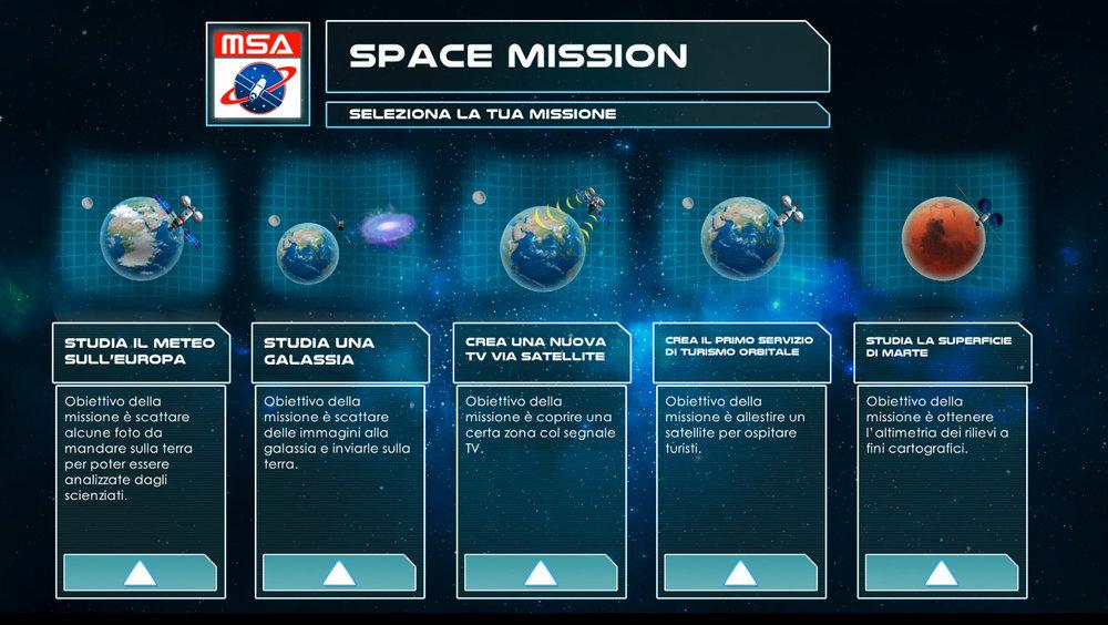 Serious game Space Mission - Sezione Spazio 01.jpg