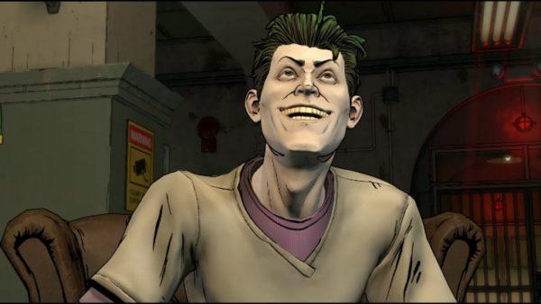 Qui è dove il Joker si siede a fare lo spiegone.