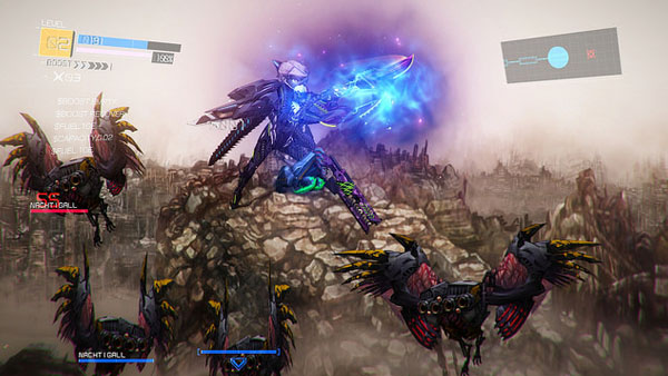 Queste bestiacce volanti vi assedieranno per tutto il gioco.