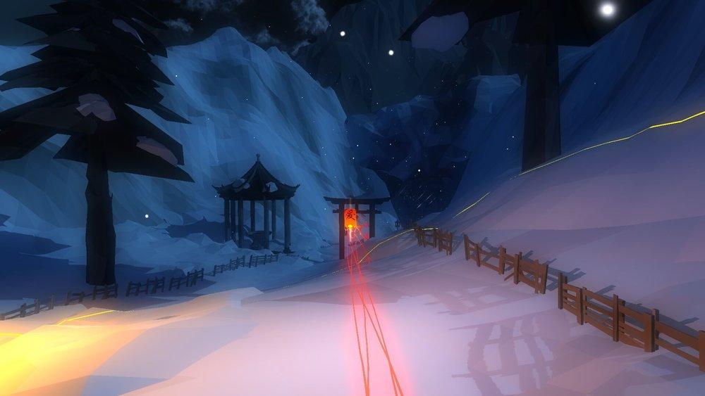 Lo scenario invernale è di gran lunga il mio preferito.