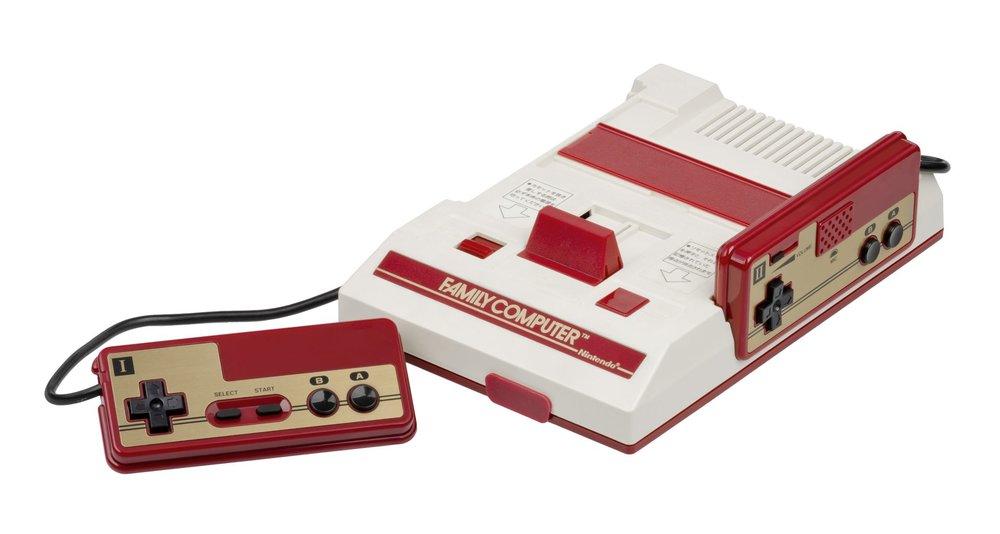 Il Famicom: semplice e lineare, quasi zen.