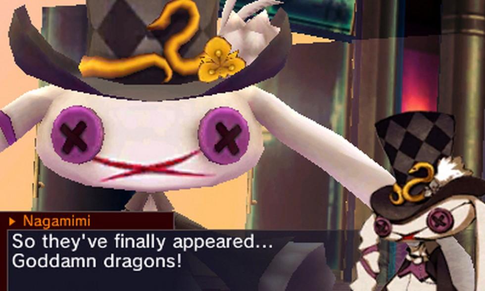 Questo coso si chiama Nagamimi ed è uno fra i personaggi più odiosi della storia recente degli RPG, morisse lui e che gli prendesse l'influenza intestinale a chi l'ha inventato.
