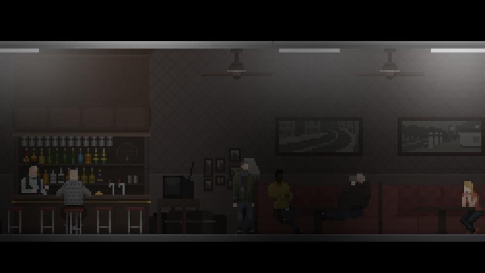 L'atmosfera vintage fa molto Silent Hill.