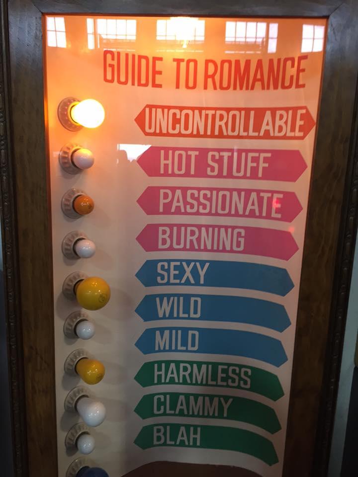 """Al museo delle cazzate arcade d'antan c'è anche la macchinetta che ti dice quanto sei fregno. Io sono """"uncontrollable"""" ❤."""